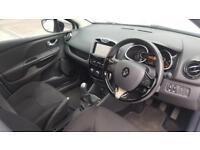 2016 Renault Clio 1.2 16v 75 Dynamique Nav Petrol white Manual