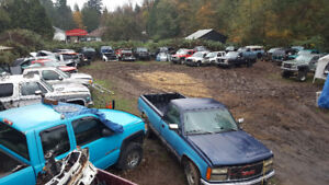 Large selection of GMC and Chevy truck parts