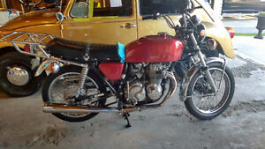 1976 Honda CB400F + 1970s Dandy pocket Racer pls read ad.