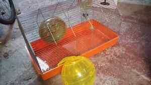 free cage for mouse, gerbil, hamster