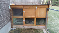 Two Story Rabbit Deluxe Hutch