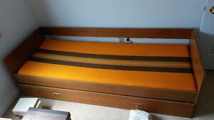 Single bed -- TEAK wood