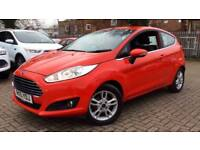 2015 Ford Fiesta 1.25 82 Zetec 3dr Manual Petrol Hatchback