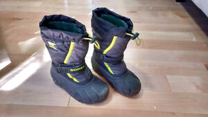 Sorel Snow Boots, Children's Size 13 (for 5/6 year old)