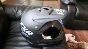 New snowmobile helmet