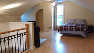 MASTER LOFT WITH ENSUITE AVAIL JULY 1ST FULLY FURNISHED ALL INCL