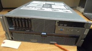 HP ProLiant DL585 G5 Server QUAD Core 8356 2.3Ghz with Ram .