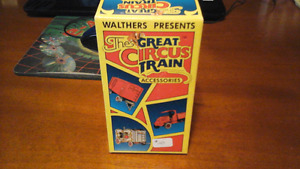 The Great Circus train accessories