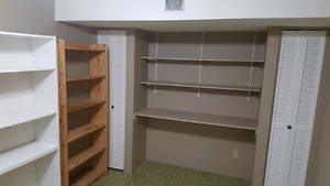 Bright newly painted 2 rooms downstairs suite,utilities included