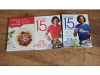 3 X fitness cook books NEW