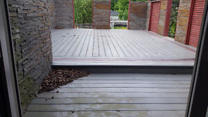 COMPOSITE DECK MATERIAL - GREY
