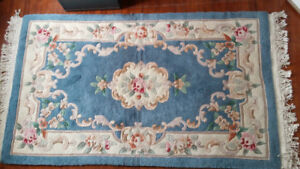 """Chinese Area Rug – 5'4"""" x 3'1"""" – Aubousson Weave"""