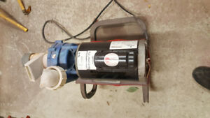 5hp 220v Spa motor w/pump