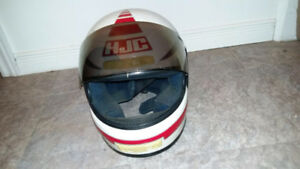 HJC Helmet with 2 visors
