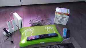 Wii game system board and games