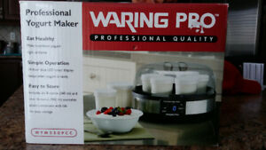 NEW!!  Waring Pro YM350 Professional Yogurt Maker