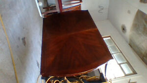 Dining set & 4 chairs