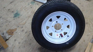 New P155/80 R13 AW Motormaster on a New Rim