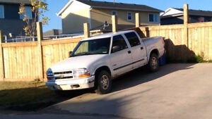 Parts Truck - 2003 Chevy S-10 crew cab