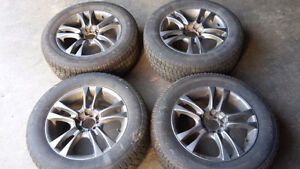 5 x 114.3 multi fit aftermarket rims with 215 65 16 winters