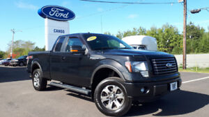 2012 Ford F-150 FX4 SuperCab-Accident Free