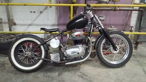 1967 BSA chopper project Cambridge Kitchener Area image 1