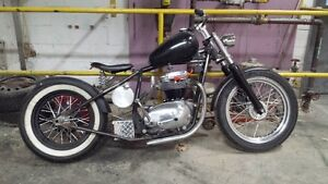 1967 BSA chopper project