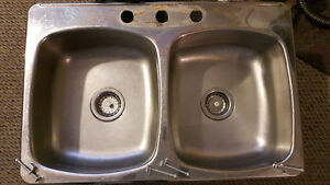 WESSAN STAINLESS STEEL DOUBLE SINK