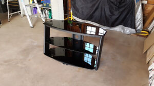 TV Stand, up to 55 inches, 3 tier waterfall design