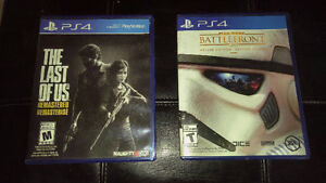 The last of us and Starwars package deal