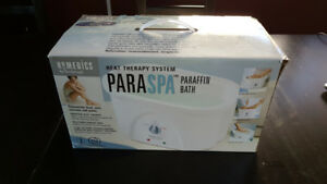 Homedics ParaSpa Home Paraffin Bath - Includes Wax