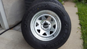 Brand New Galvanized Trailer Wheels-Radial Tires-Only 160. Each
