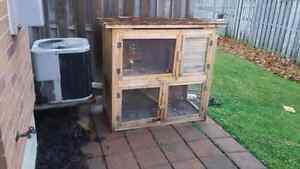 Two Level Rabbit Hutch (cage)