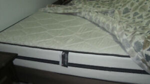 Double Bed Set with Frame