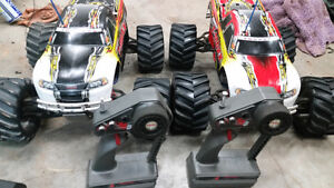 Pair of TMAXX RC Trucks