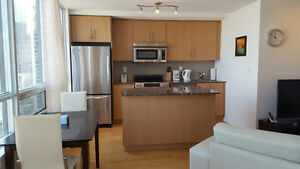 Downtown Furnished 1 Bed + Office Suite next Union - Financial