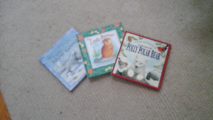 3 Brand New gorgeous  Animal stories - Beaver, polar bear, goose