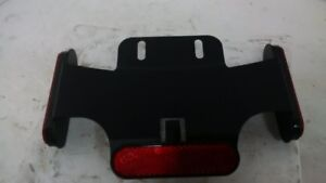 2007 Victory Hammer  - Licence plate bracket lower with reflecto
