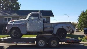 49 chevy rat rod project