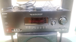 Sony 5.1 Receiver (STR-K990) + Sub and Speakers