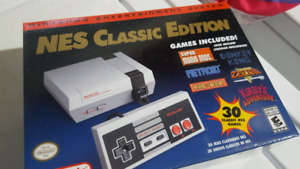 The Real NES Classic w/ extra controller.