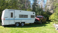 Old and Unwanted campers Removal or Camper Towing Service