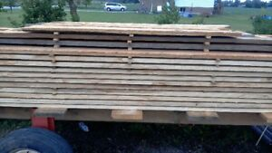 Wormy Maple Lumber