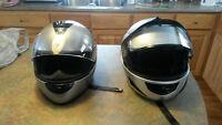 Selling 3x Motorcycle Helmets
