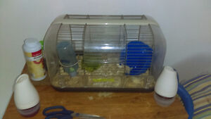 I have two hamster cages for sale.