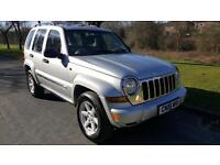 2006 JEEP CHEROKEE 2.8 CRD AUTO LIMITED, FULL SERVICE HISTORY