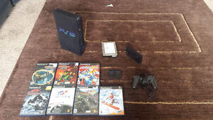 Playstation 2, Fat console with Accessories