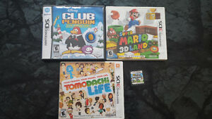 Games for Sale 3DS & DS