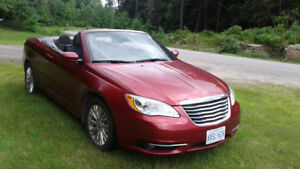 For Sale ..2012 Chrysler Convertible, very low mileage