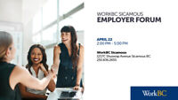 WorkBC Sicamous Employer Forum